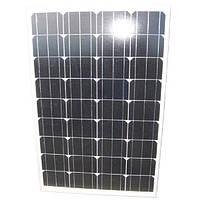 Сонячна батарея (панель) 100Вт, монокристалічна ECS-100M36, ECsolar