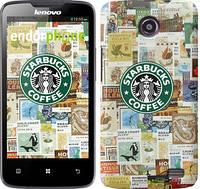 """Чехол на Lenovo A820 Starbucks v3 """"3092c-68-716"""""""