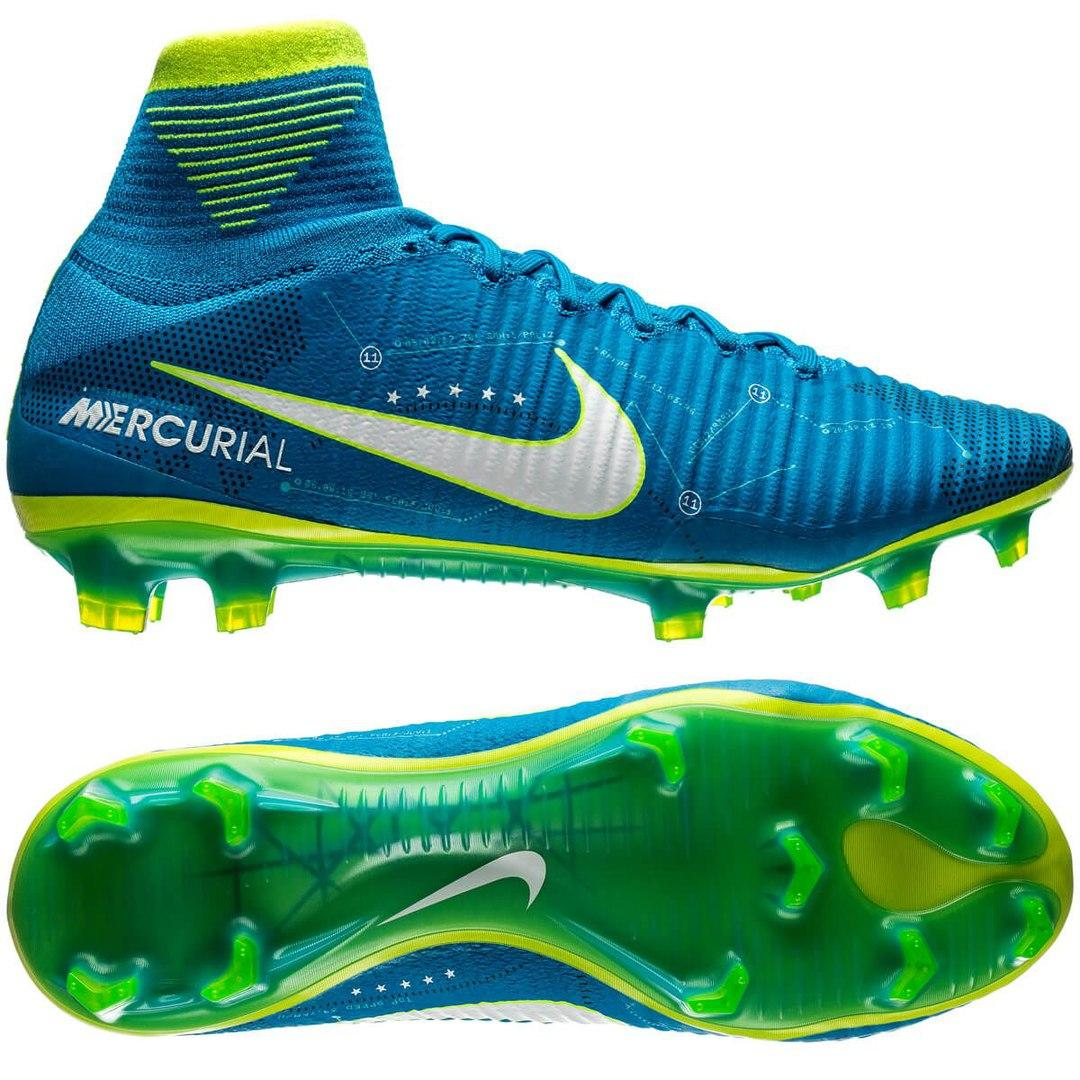 Бутсы Nike Mercurial Superfly V FG NJR  реплика