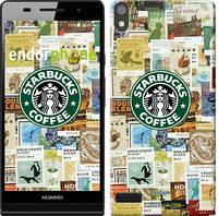 "Чехол на Huawei Ascend P6 Starbucks v3 ""3092c-39-716"""