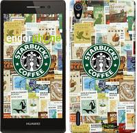 "Чехол на Huawei Ascend P7 Starbucks v3 ""3092c-49-716"""