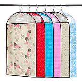 Чехлы для хранения и упаковки одежды флизелиновые разные цвета