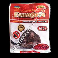 «Котофеич» зерно 100 г от крыс и мышей, оригинал