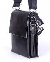 Чоловіча сумка Bradford 888-0 мала на три відсіки штучна шкіра розмір 14х18х5см, фото 1