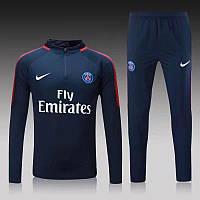 Тренировочный костюм ПСЖ (синий)