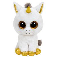 "TY Beanie Boo's 36179 Белый единорог ""Pegasus"" 15см"