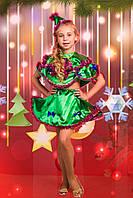 Новогодний костюм Ёлочки | Карнавальный костюм Ёлка для девочки