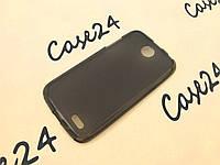 Чехол накладка для Lenovo A516 чёрный, фото 1