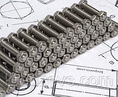 Болт шестигранный  М12х1,5 DIN 961