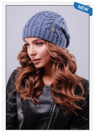 Современная модная шапка шанель, фото 2