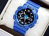 Детские спортивные наручные часы Casio baby-g BA-110DE-2A1ER синие, джинс
