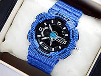 Детские спортивные наручные часы Casio baby-g BA-110DE-2A1ER синие, джинс, фото 1