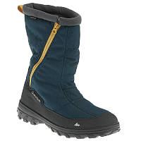 Зимние мужские туристические ботинки quechua