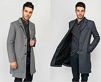 Классическое мужское пальто 662K001 (р.XS-L)