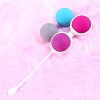 Сменные- вагинальные шарики (4шт)Этот тренажёр  доставит вам удовольствие,так и решит ряд женских проблем