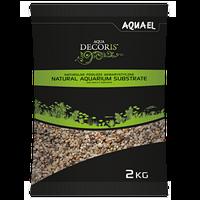 Грунт Aquael Aqua Decoris для аквариума натуральный 3-5 мм, 10 кг