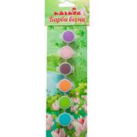 Акриловые краски - Краски весны 6 цветов