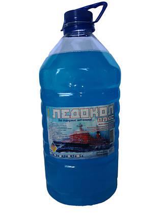Жидкость стеклоомывающая зимняя Ледокол Плюс 4л, фото 2
