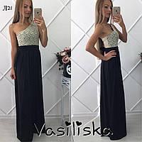 Красивое гипюровое вечернее платье ан-10685-2
