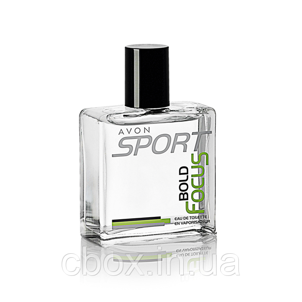 Туалетная вода мужская Avon Sport Bold Focus, Эйвон Спорт Болд Фокус, 18959, 50 мл