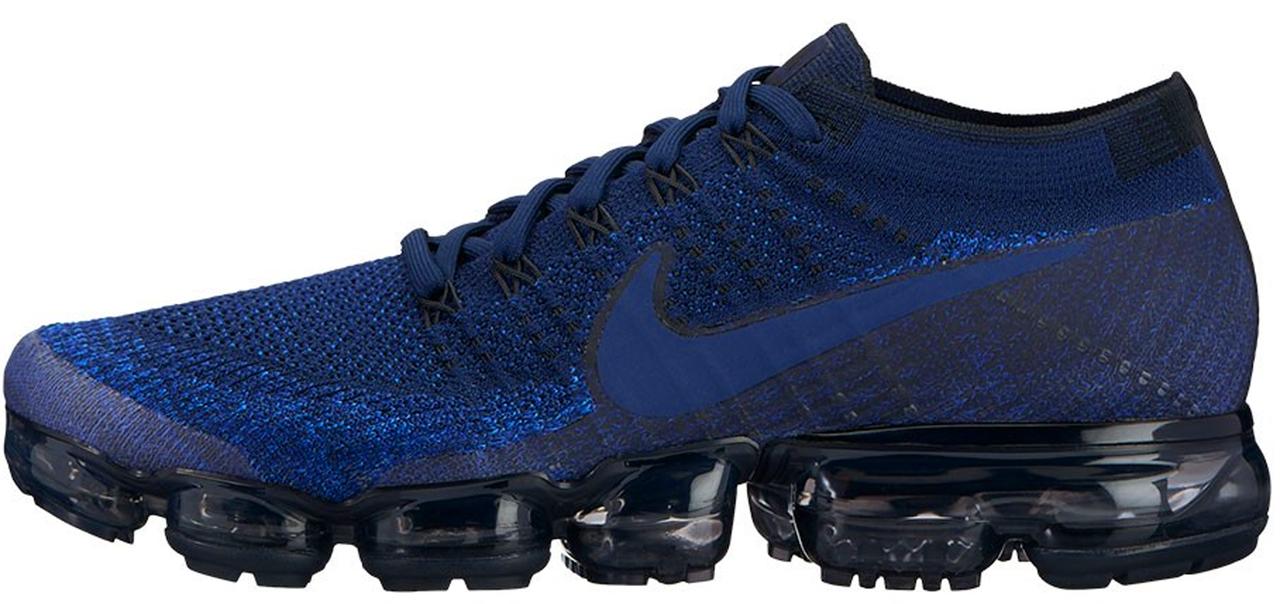 Мужские кроссовки Nike VaporMax Blue, Найк ВапорМакс