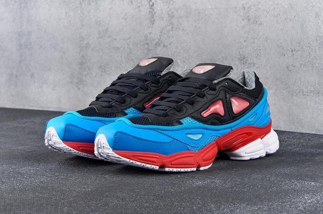 Adidas Raf Simons Azweego Blue Red