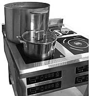 Индукционная плита 4х конфорочная 3,5кВт для профессиональных кухонь, фото 1