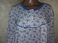Теплая ночная сорочка, размер 2ХL (60)