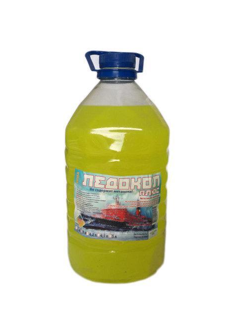 Жидкость стеклоомывающая зимняя Ледокол Плюс 4л