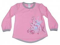Нарядная футболка для девочки р.86