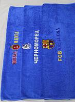 Полотенца для сауны с футбольной символикой