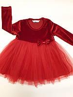 Нарядное платье на девочку, BREEZE, рост 86-116 см.