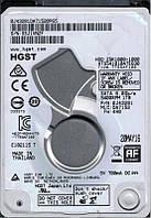 Жесткий диск Hitachi Travelstar Z5K1000, 2.5, 1TB, 5400 оборотов/мин, буфер 32 Мб, SATA III, 70 x 9.5 x 100 мм