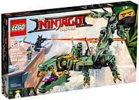 LEGO Ninjago Movie Зелёный механический дракон ниндзя (70612), фото 1