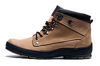 Зимние ботинки мужские Cayman, на меху, бежевые, р. 41 42 43 44