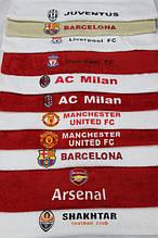Рушники банний махровий з футбольною символікою