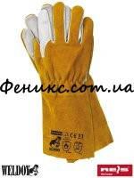 Перчатки защитные сварочные из кожи YELLOWBEE - 11