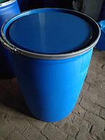 Бочка для вина закваски 227 литров с большой крышкой и хомутом