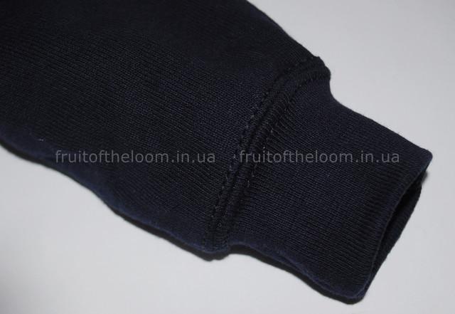 Глубокий тёмно-синий детский классический реглан