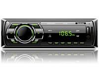 Автомагнитола FP-302 Black/Green USB/SD ресивер, FANTOM
