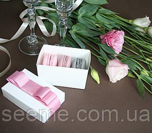 Коробка подарочная для macarons 55х90х55 мм.