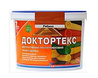 Лазурь-лак антисептический ІРКОМ ДОКТОРТЕКС ІР-013 для древесины рябина 3л