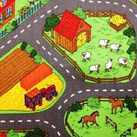 Детский ковролин Ideal Farm 158