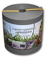 Бордюр газонный прямой BORDER 6мх15смх2.8мм. Серый