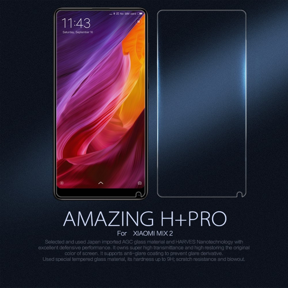 Защитное стекло Nillkin H+ Pro для Xiaomi Mi Mix 2
