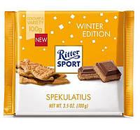 Молочный шоколад Ritter Sport Spekulatius- Winter Kreation