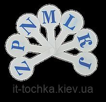Учебный набор английских букв zibi zb.4903 в виде веера