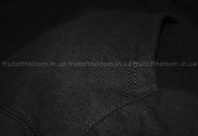 Светлый графит  мужская лёгкая толстовка с капюшоном на замке
