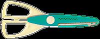 """Ножницы """"Зиг-Заг"""" 165мм, бирюзовые zb.5020-06"""