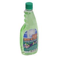 Средство для мытья стекол Переможець 0,5л (весенняя свежесть) запаска
